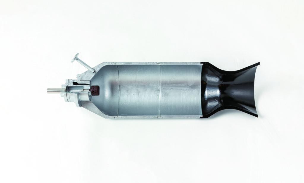 ピントル型噴射器を備えたロケットエンジン燃焼器模型