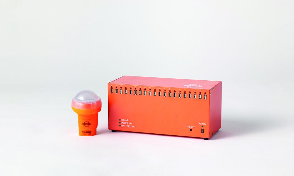 未電化地域充電器