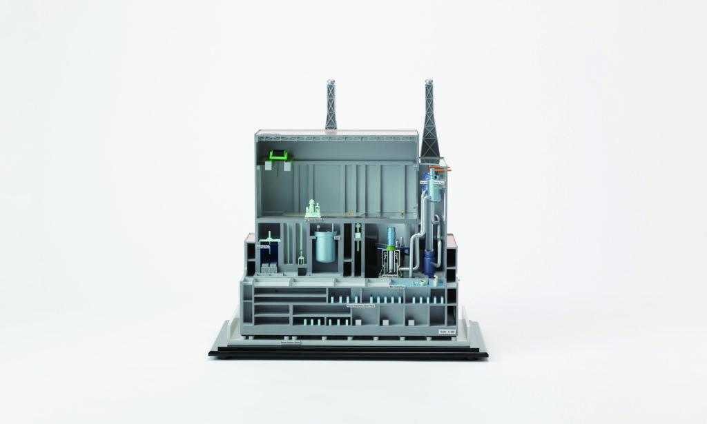 次世代原子炉の模型